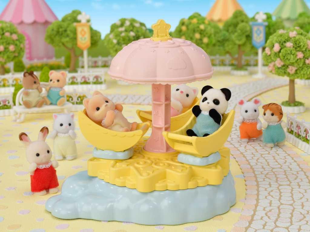 Le carrousel étoilé - Sylvanian Families - 5539