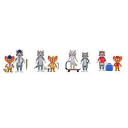 Packs 2 Figurines 8 cm Tom & Jerry