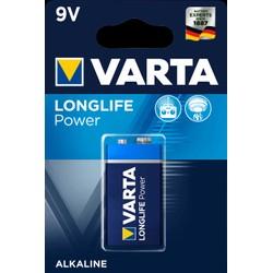Pack 1 Pile Varta Longlife Power 9V 6LR61