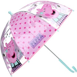 Parapluie transparent pour enfant Peppa Pig