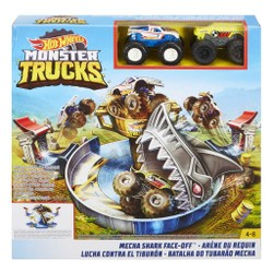Hot Wheels Monster Trucks - Arène du Requin
