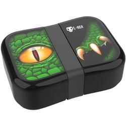 Lunch box Dino avec élastique noir