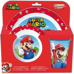 Super Mario - Set petit déjeuner