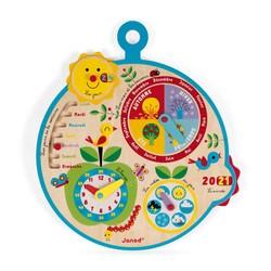 Calendrier-horloge Au Fil du Temps