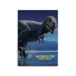 Plaid polaire World of Dinosaurs