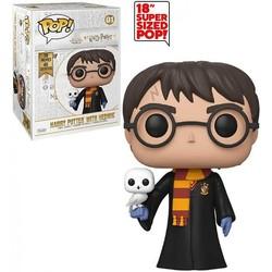"Figurine Funko Pop! 18"" Super Sized - Harry Potter avec Hedwige"