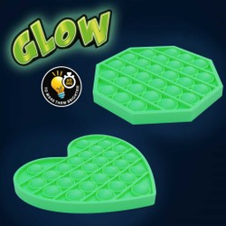 Pop It Bubble Pops Glow in the dark