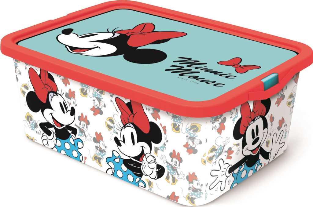 Boîte de rangement 13L Minnie Mouse Vintage
