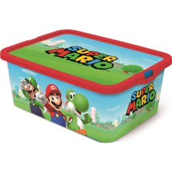 Boîte de rangement 13L Super Mario