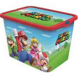 Boîte de rangement 23L Super Mario