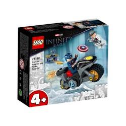 L'affrontement entre Captain America et Hydra - LEGO Marvel - 76189