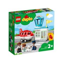 Avion et aéroport - LEGO DUPLO - 10961