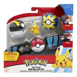 Pokémon Clip'N'Go Kit Ceinture - Pikachu