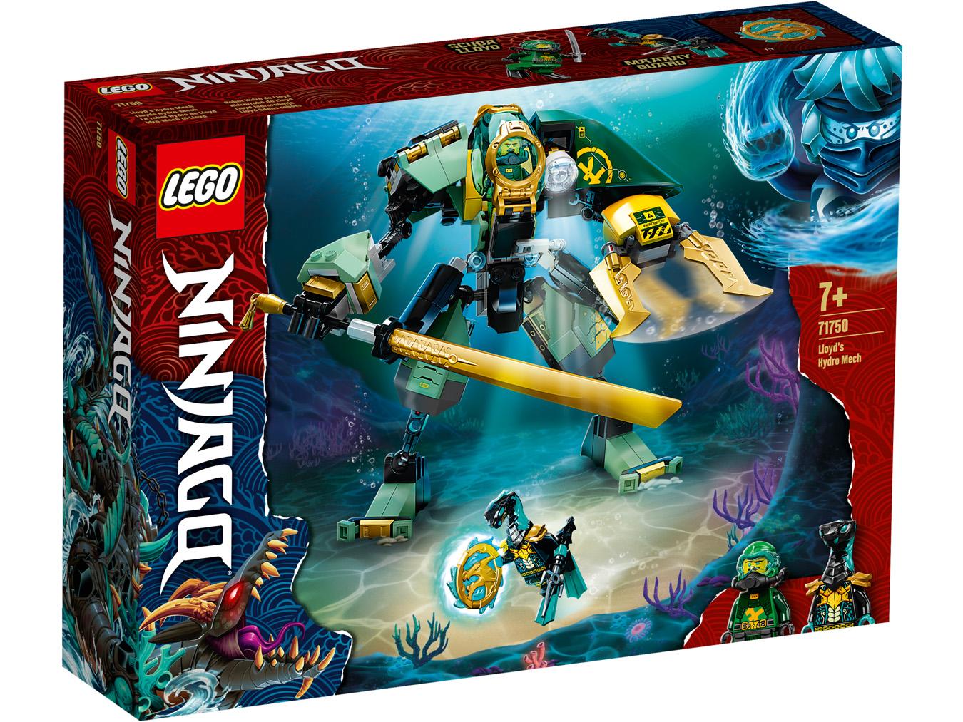 Le robot Hydro de Lloyd - LEGO Ninjago - 71750