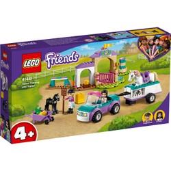 Le dressage de chevaux et la remorque - LEGO Friends - 41441