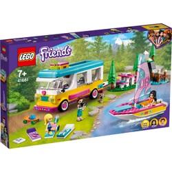 Le camping car et le voilier de la forêt - LEGO Friends - 41681