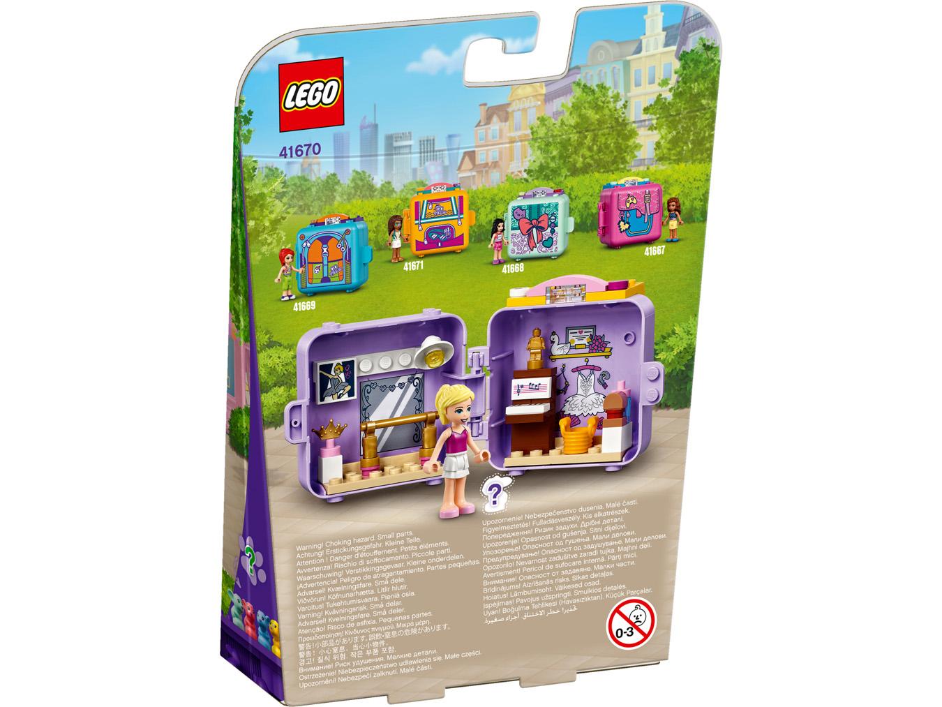 Le cube de danse de Stéphanie - LEGO Friends - 41670