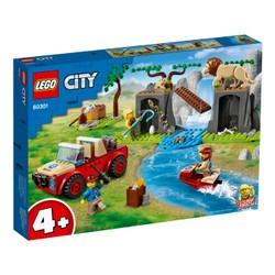 Le tout-terrain de sauvetage des animaux sauvages - LEGO City - 60301