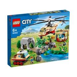 L'opération de sauvetage des animaux sauvages- LEGO City - 60302