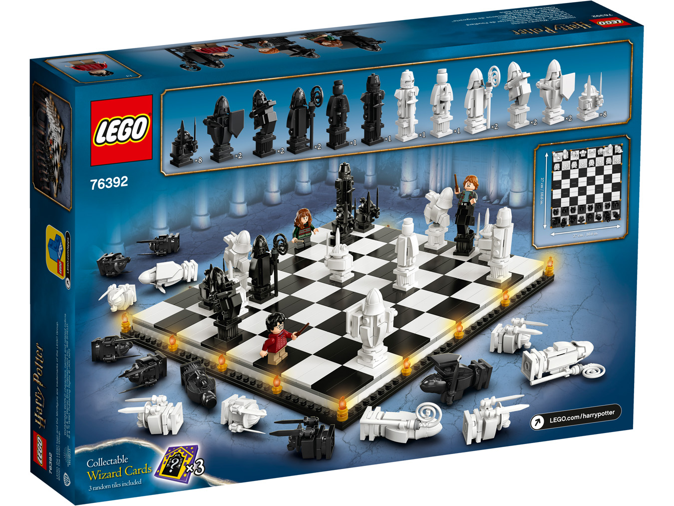 Le jeu d'échecs version sorcier de Poudlard - LEGO Harry Potter - 76392