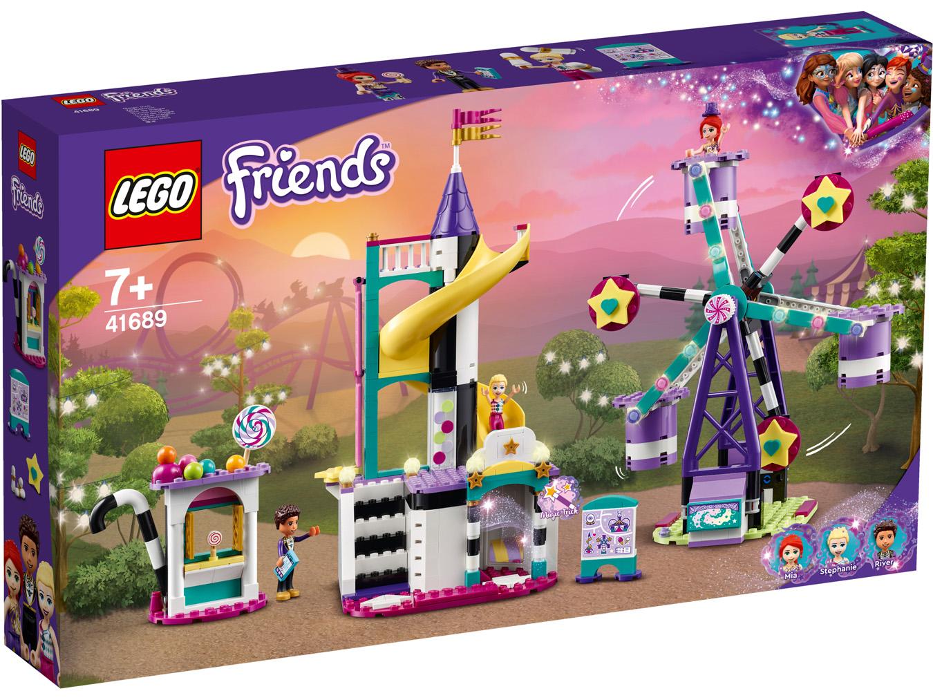 Grande roue et tobbogan magiques - LEGO Friends - 41689