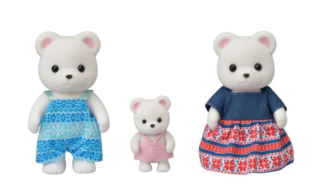 La famille ours polaire - Sylvanian Families - 5396