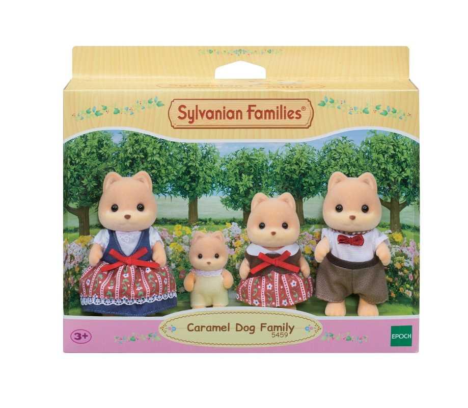 La famille chien caramel - Sylvanian Families - 5459