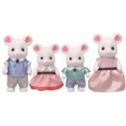 La famille souris marshmallow - Sylvanian Families - 5308