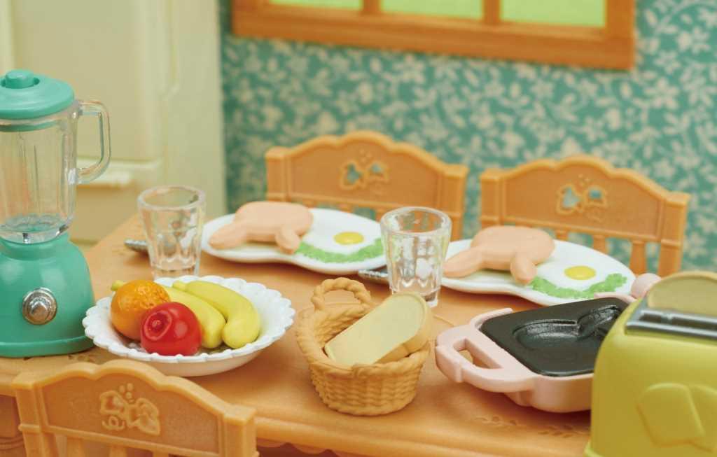 Le set petit déjeuner - Sylvanian Families - 5444