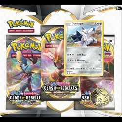 Pokémon Epée et Bouclier - Clash des Rebelles  - Pack 3 boosters