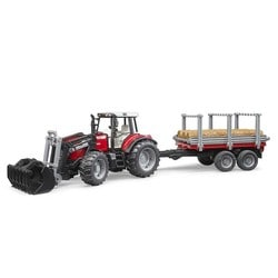 Tracteur forestier Massey Fergusson