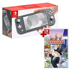 Pack Console Nintendo Switch Lite Grise + Monopoly