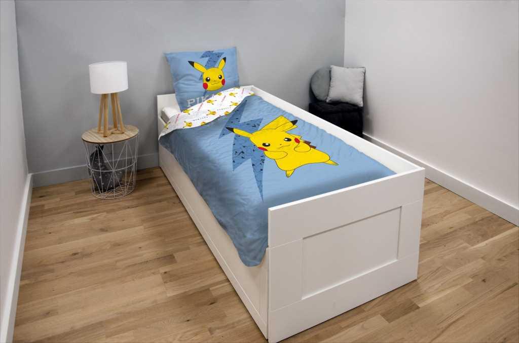 Pokémon - Parure de couette Pikachu High Voltage