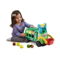 Maxi camion poubelle recyclo'formes (plastique réutilisé)