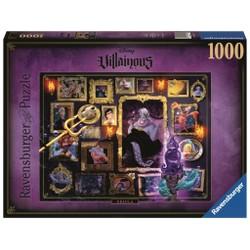 Puzzle 1000 pièces - Disney Villainous - Ursula
