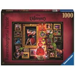 Puzzle 1000 pièces - Disney Villainous - La Reine de Coeur