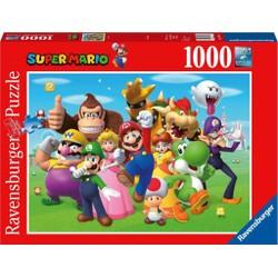 Puzzle 1000 pièces - Super Mario