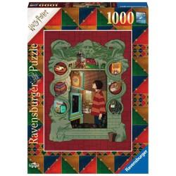 Puzzle 1000 pièces - Harry Potter chez les Weasley