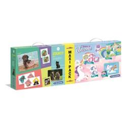 Maxi Pack Edukit 4 en 1 Chiots + Licornes