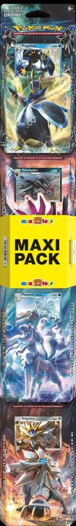 Maxi Pack - Pokémon Soleil & Lune - 4 starters
