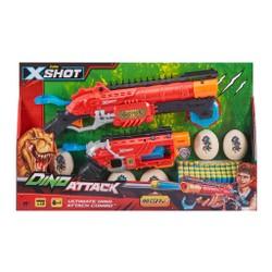 Pack 2 pistolets X-Shot Dino Attack