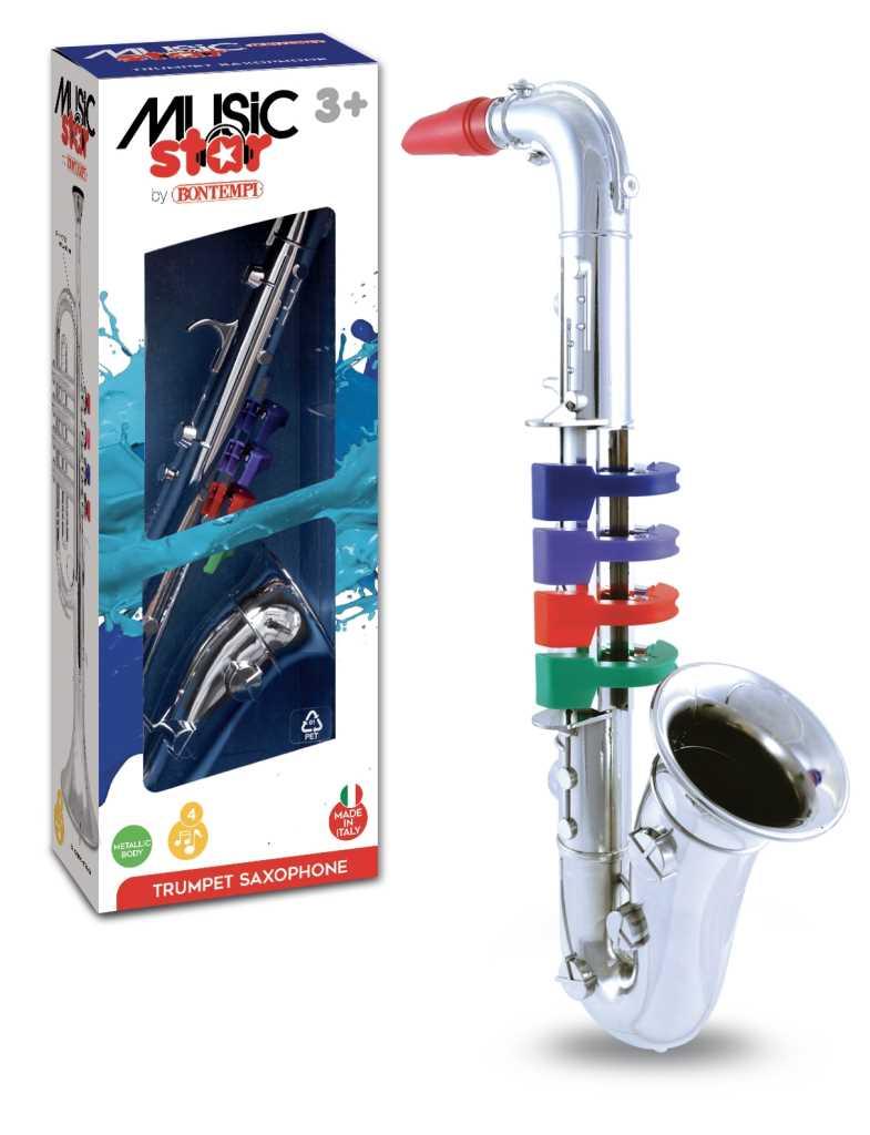 Saxophone 4 touches couleurs
