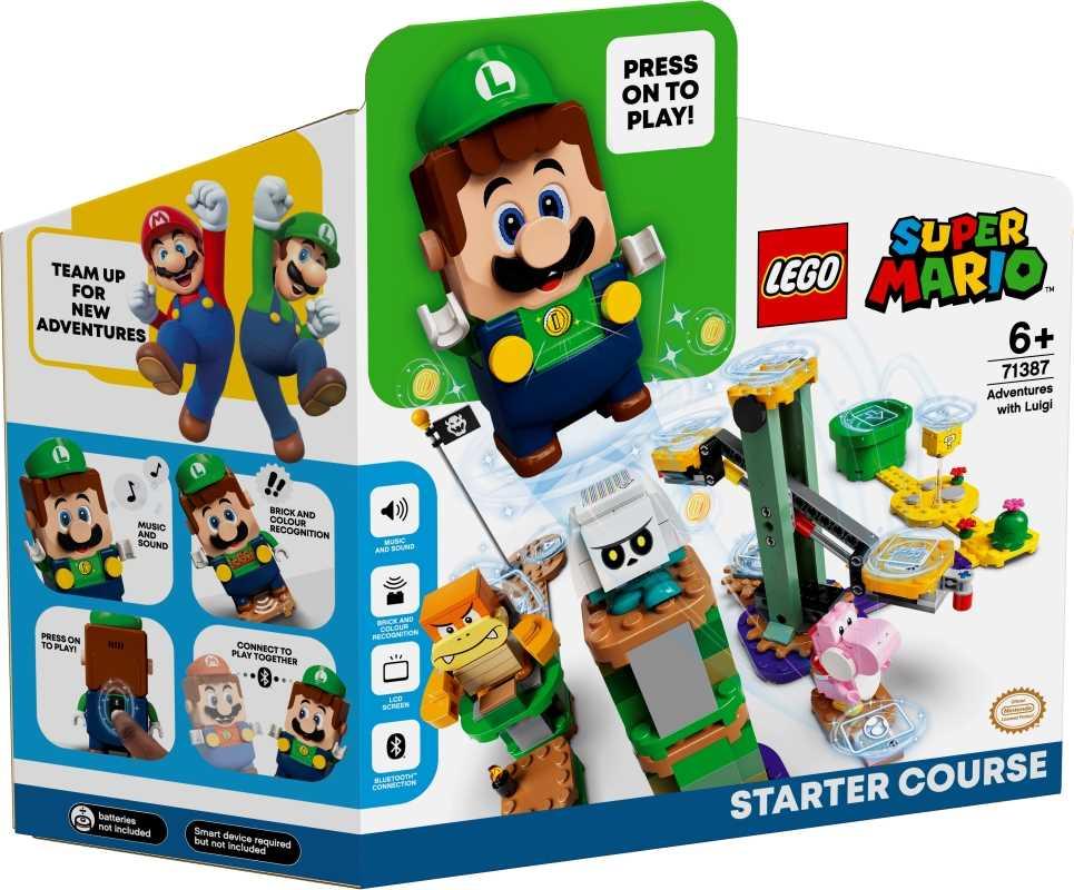 Pack de démarrage Les Aventures de Luigi - LEGO Super Mario - 71387