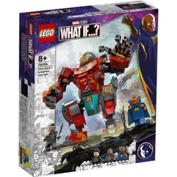 L'armure sakaarienne d'Iron Man de Tony Stark - LEGO Marvel - 76194