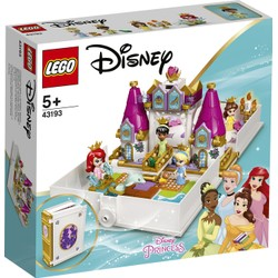 Les aventures d'Ariel, Belle, Cendrillon et Tiana dans un livre de contes - LEGO Disney - 43193