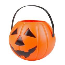 Seau à bonbons Tête de citrouille Halloween