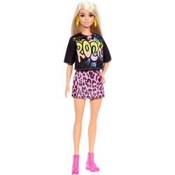 Barbie Fashionistas 155 - T-shirt Rock et jupe léopard