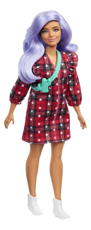 Barbie Fashionistas 157 - Robe à carreaux et étoiles