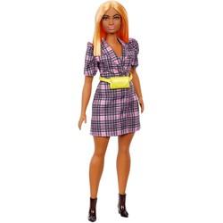 Barbie Fashionistas 161 - Robe portefeuille à carreaux