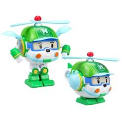 Robocar Poli - Véhicule robot transformable 2 en 1 - Héli